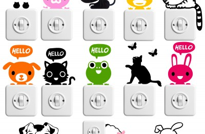 Autocollants – Stickers – Lettres découpées