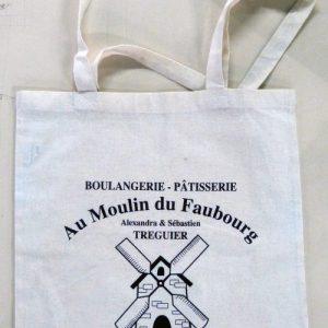 sac personnalisé pour la boulangerie Au Moulin du Faubourg