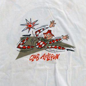tee shirt personnalisé avec le logo du Club Arlequin