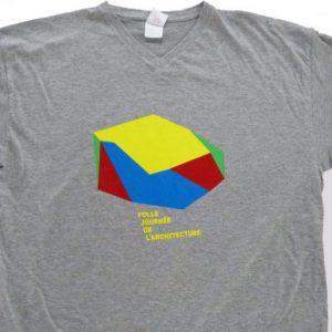 tee shirt personnalise pour la folle journée de l'architecture