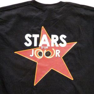 tee shirt personnalisé pour stars d'un jour