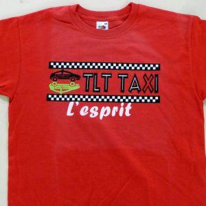 tee shirt personnalisé pour TLT Taxi